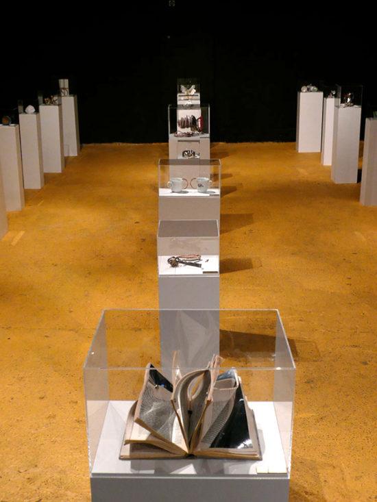 'Location 1' double show 2009, Cullen Art Services, London, UK