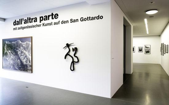 'Dall' Altra Parte' group show 2016, Haus für Kunst Uri, Altdorf, Switzerland