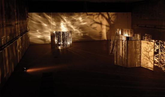 'Escaping reality' installation (with acoustics by Martin Andersson) 2010, Malzfabrik, District Kunst- und Kulturförderung, Berlin