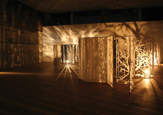 'Escaping reality' installation (with acoustics by Martin Andersson) 2010, Malzfabrik, District Kunst- und Kulturförderung, Berlin, D