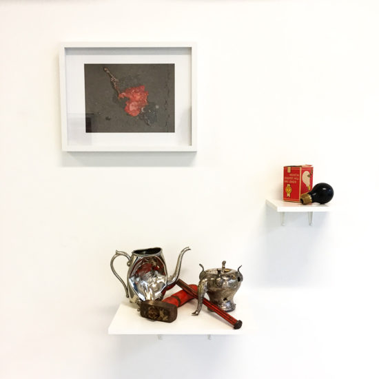 'Of Teapots and Other Matters' solo exhibition 2016/2017, KATZ CONTEMPORARY, Zurich