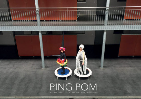'PING POM' film still by Myriam Gämperli & Martina von Meyenburg at 'Of Teapots and Other Matters' solo exhibition 2016/2017, KATZ CONTEMPORARY, Zurich