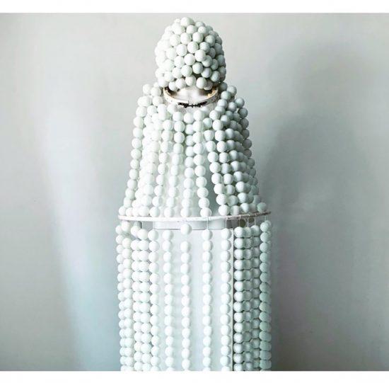 costume PING by Martina von Meyenburg at The Art Cabinet by StudioK3, group show, 2020, Zurich