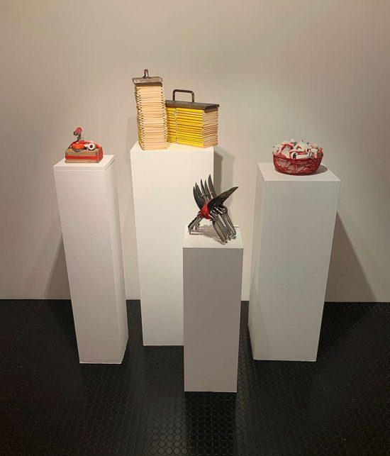 installation view, solo show 'Pleasure and Gloom', FRÉDÉRIQUE  HUTTER art concept, Zurich