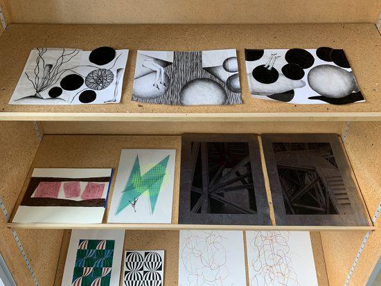 installation view, The Art Cabinet by StudioK3, group show, 2020, Zurich